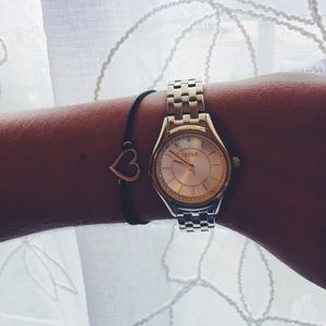 Womens Fossil Watch Gold